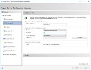 مراحل نصب و config نرم افزار power bi report server
