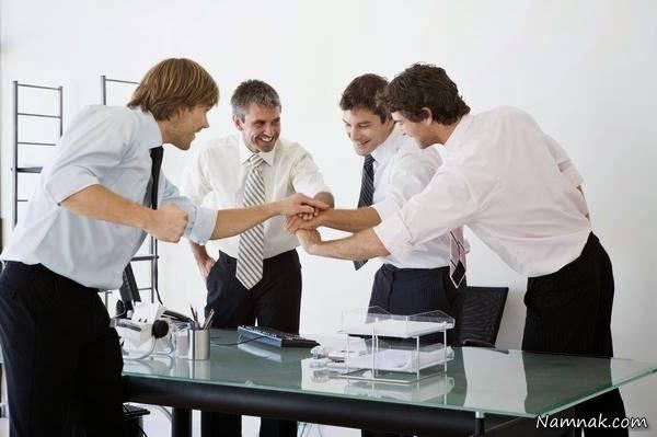 همکاری کارکنان - هوش تجاری کیسان